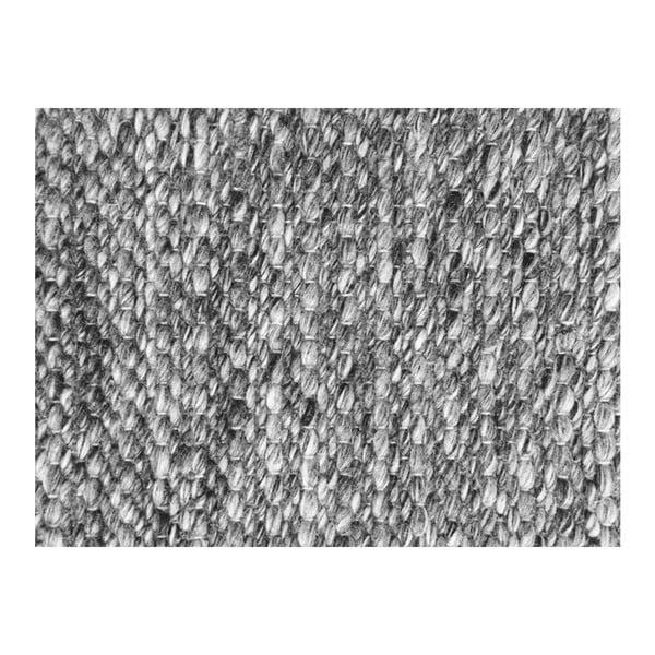 Vlněný koberec Tikos Grey, 170x240 cm