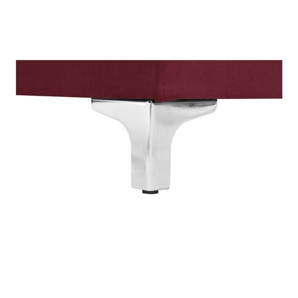 Canapea cu șezut pe partea dreaptă Florenzzi Bossi, roșu