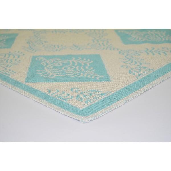 Modrý odolný koberec Vitaus Azalea, 140x200cm