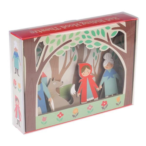 Figurine din carton Rex London Red Riding Hood