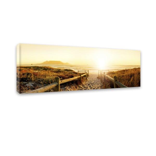 Canvas Harmony Beach II fali kép, 45 x 140 cm - Styler