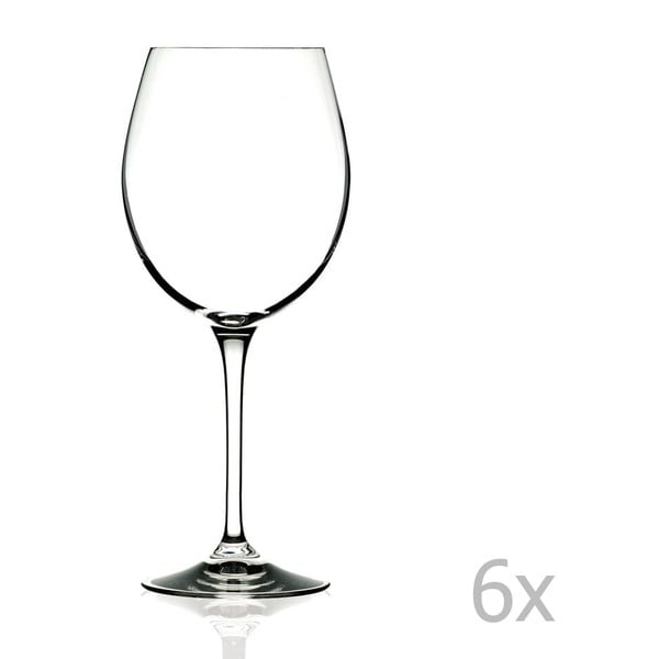 Set 6 pahare pentru vin RCR Cristalleria Italiana Romilda