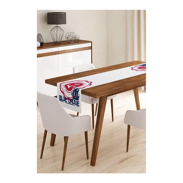 Blue Cruise mikroszálas asztali futó, 45 x 145 cm - Minimalist Cushion Covers