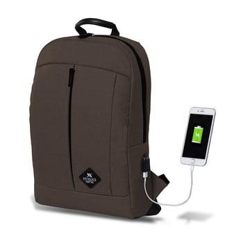 Rucsac cu port USB My Valice GALAXY Smart Bag, maro închis de la Myvalice