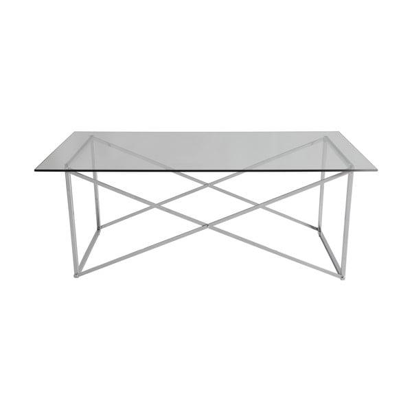 Chromovaný konferenční stolek RGE Cross, délka120cm
