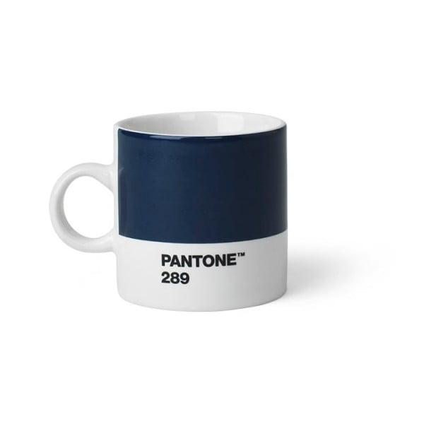 Cană Pantone 289 Espresso, 120 ml, albastru închis