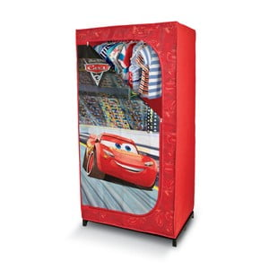 Červená šatní skříň Domopak Living Cars, délka145cm