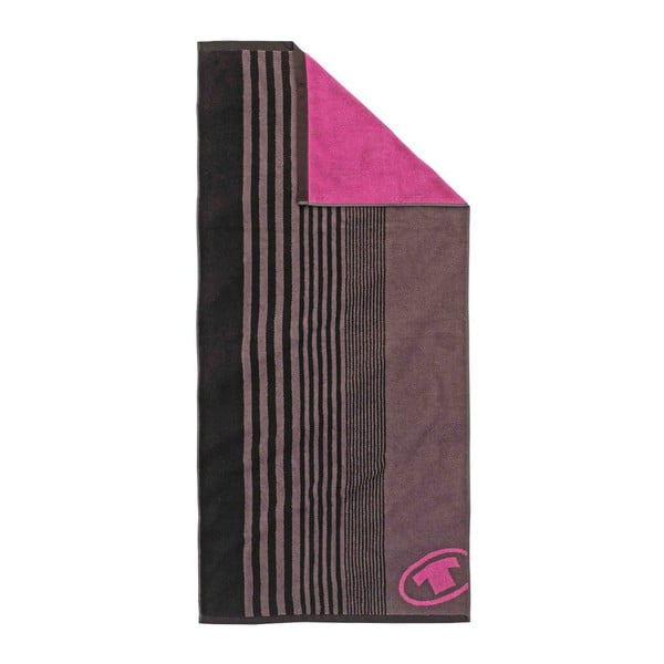 Ručník Tom Tailor Sport Brown, 70x150 cm