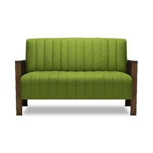 Zelená dvoumístná pohovka Miljä Alti