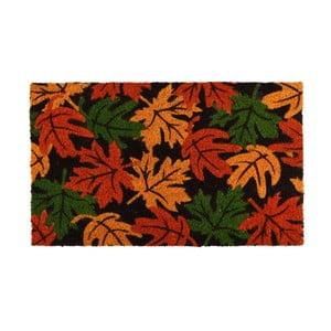 Rohožka z kokosového vlákna s podzimním listím Esschert Design, 40 x60cm