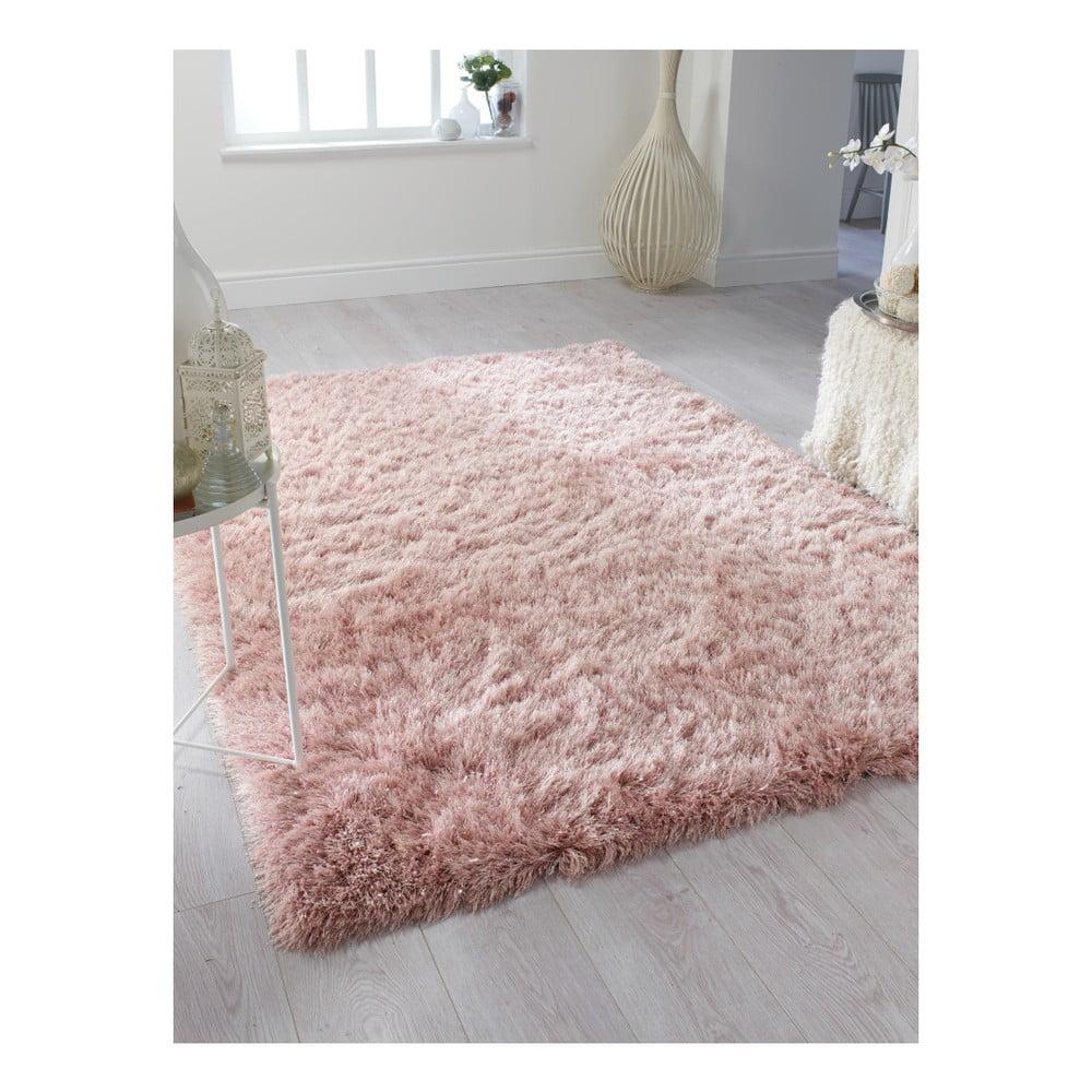Dazzle Blush Pink Rug: Covor Flair Rugs Dazzle Blush Pink, 120 X 170 Cm