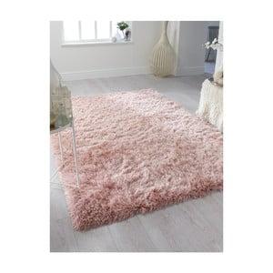 Růžový koberec Flair Rugs Dazzle Blush Pink, 160 x 230 cm