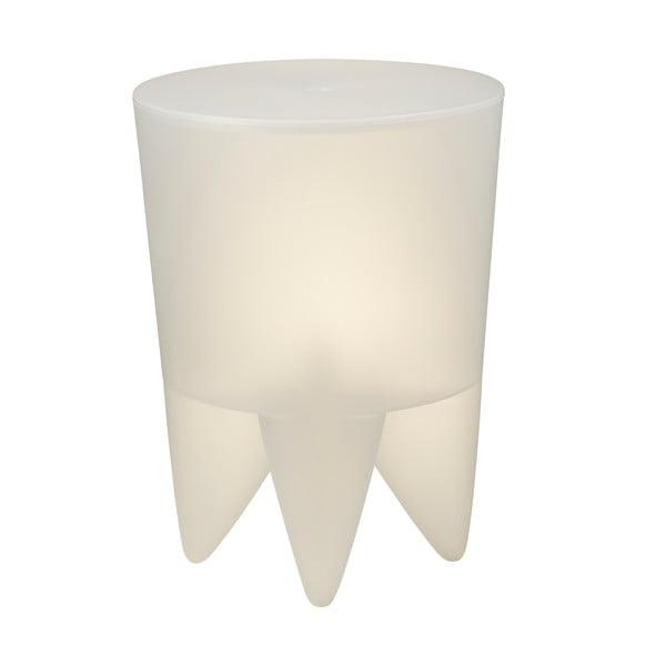 Univerzální stolek/koš/chladič na led Bubu, průhledný