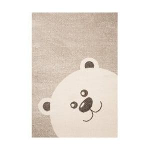 Dětský hnědý koberec Zala Living Bear,120x170cm