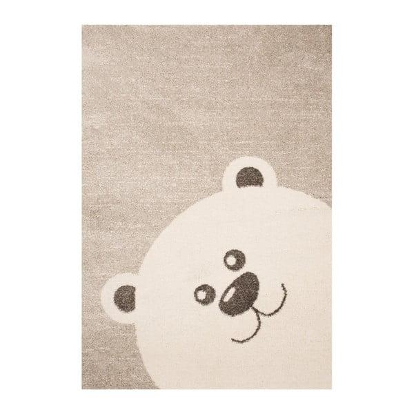 Bear barna gyerekszőnyeg, 120 x 170 cm - Zala Living