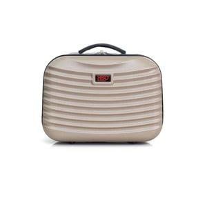 Béžové malé příruční zavazadlo Hero Patapios,