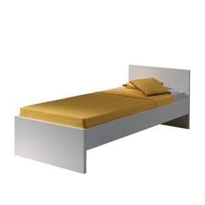Bílá postel Vipack Milan, 200 x 90 cm