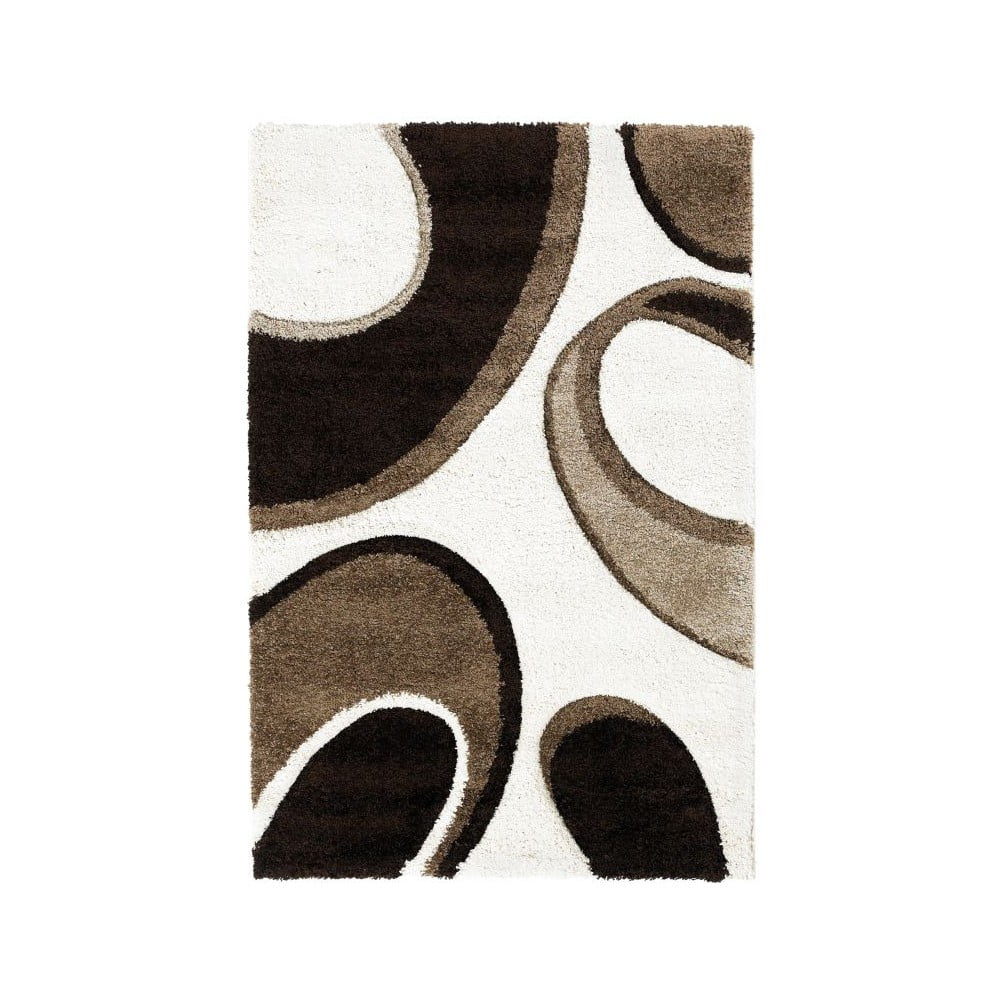 Hnědobéžový koberec Think Rugs Fashion, 120x170cm