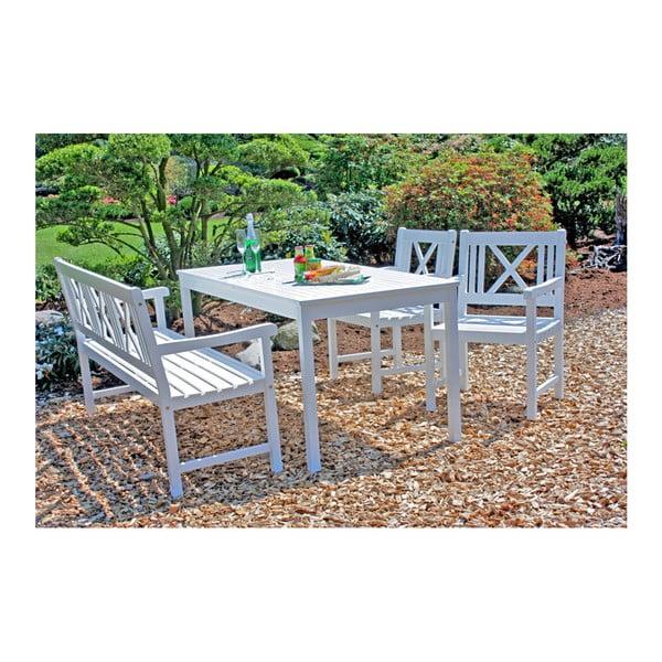Zahradní stůl z eukalyptového dřeva ADDU Malmo