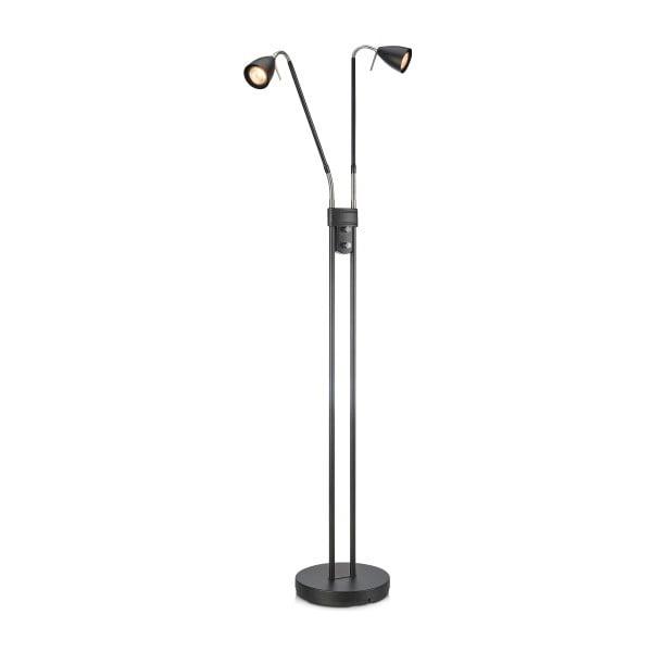 Lampadar cu 2 brațe Markslöjd Persson, înălțime 1,5 m, negru
