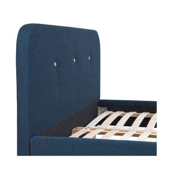 Postel Agnes, 180x200 cm, modrá