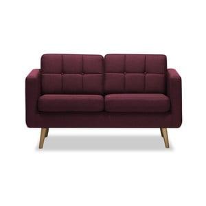 Canapea cu 2 locuri Vivonita Magnus, burgundy