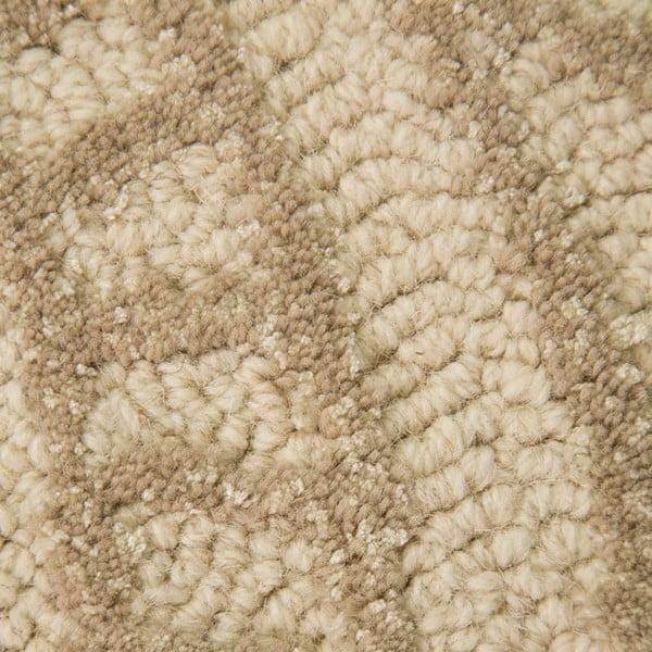Vlněný koberec Mendhi 160x230 cm, přírodní