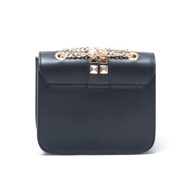 Kožená kabelka Alessa, černá