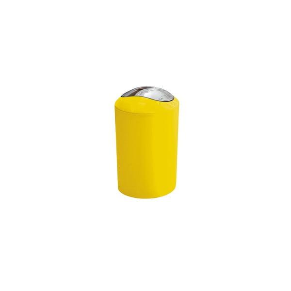 Odpadkový koš Glossy Yellow, 3 l