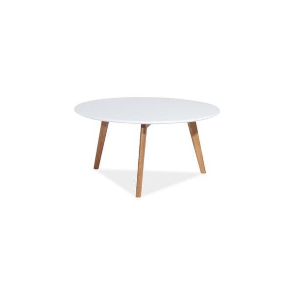 Konferenční stolek Milan 80x45 cm, bílý