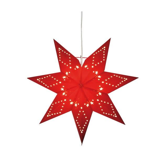 Červená svítící hvězda Best Season Paperstar Katabo, 43cm