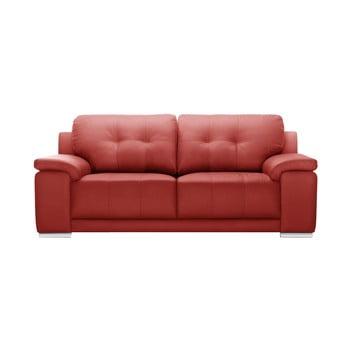 Canapea cu 3 locuri Corinne Cobson Home Babyface, roșu de la Corinne Cobson Home