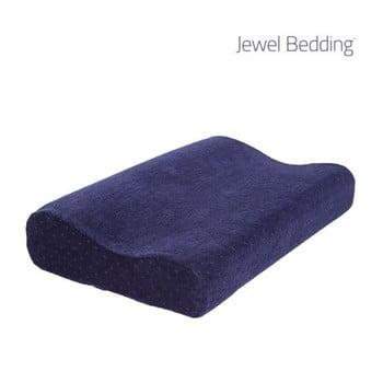 Pernă cu spumă de memorie InnovaGoods Jewel Bedding, albastru închis de la InnovaGoods