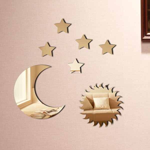 Dekorativní zrcadlo Obloha