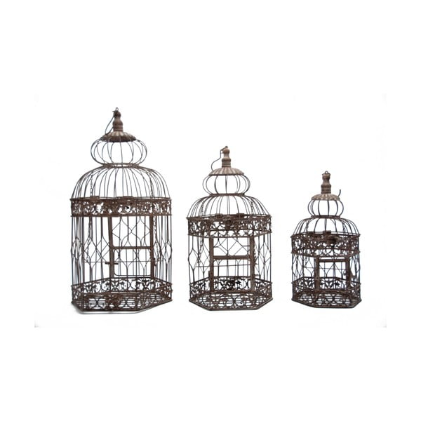 Sada 3 klecí Antic Line Bird Cage