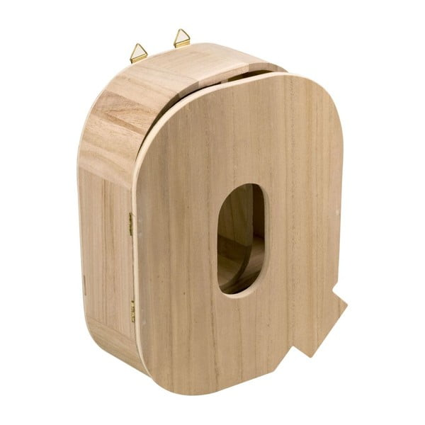 Nástěnný box Letter Q