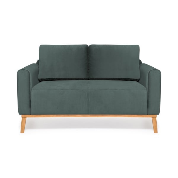 Oceľovomodrá dvojmiestna sedačka Vivonita Milton Trend