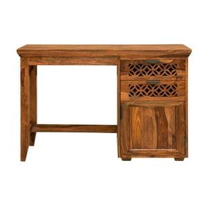 Psací stůl z palisandrového dřeva Massive Home Rosie