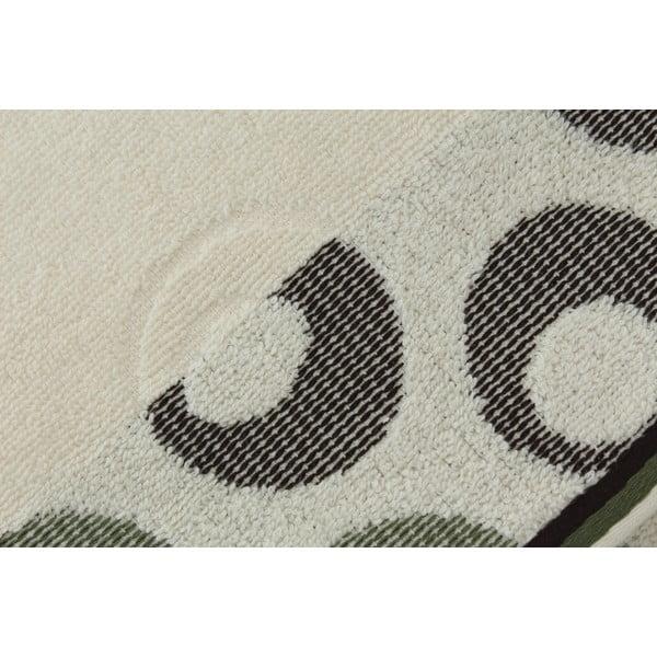 Sada 2 osušek Arion Cream, Green, 50x90 cm