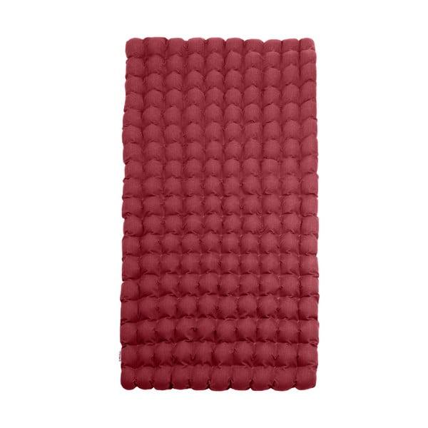 Bubbles piros relaxációs masszázs matrac, 110 x 200 cm - Linda Vrňáková