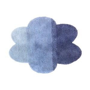 Modrý dětský koberec ve tvaru obláčku Art For Kids, 100 x 130 cm