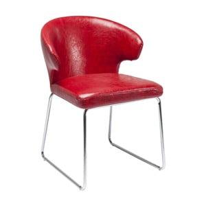 Červená jídelní židle Kare Design Atomic