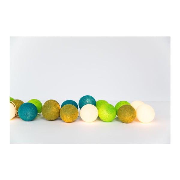 Světelný řetěz Kelimutu, 20 kuliček