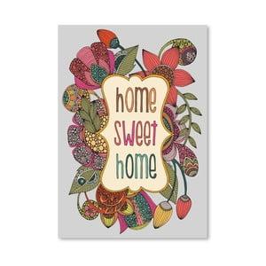Autorský plakát Home Sweet Home od Valentiny Ramos