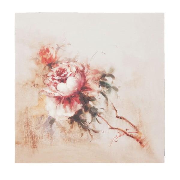 Obraz s květinou Clayre, 80x80 cm