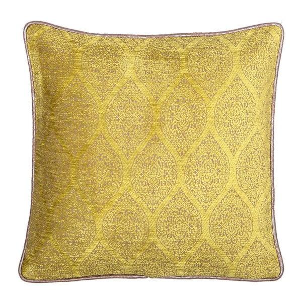 Carmina sárga-bézs kétoldalas díszpárna, 45 x 45 cm - Kate Louise