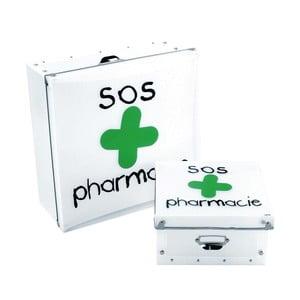 Úložný box na léky Incidence SOS Pharmacie