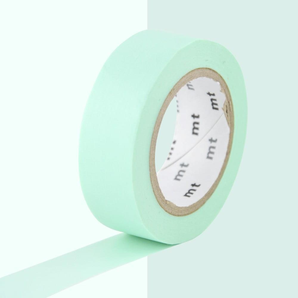 Světle zelená washi páska MT Masking Tape Uni