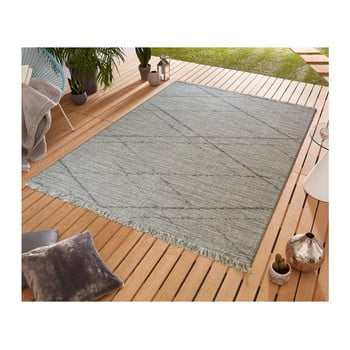Covor potrivit pentru exterior Floorita Les Gipsy Grey, 155 x 230 cm de la Floorita