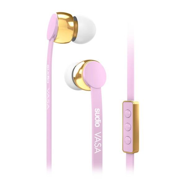 Růžová sluchátka Sudio VASA pro Android